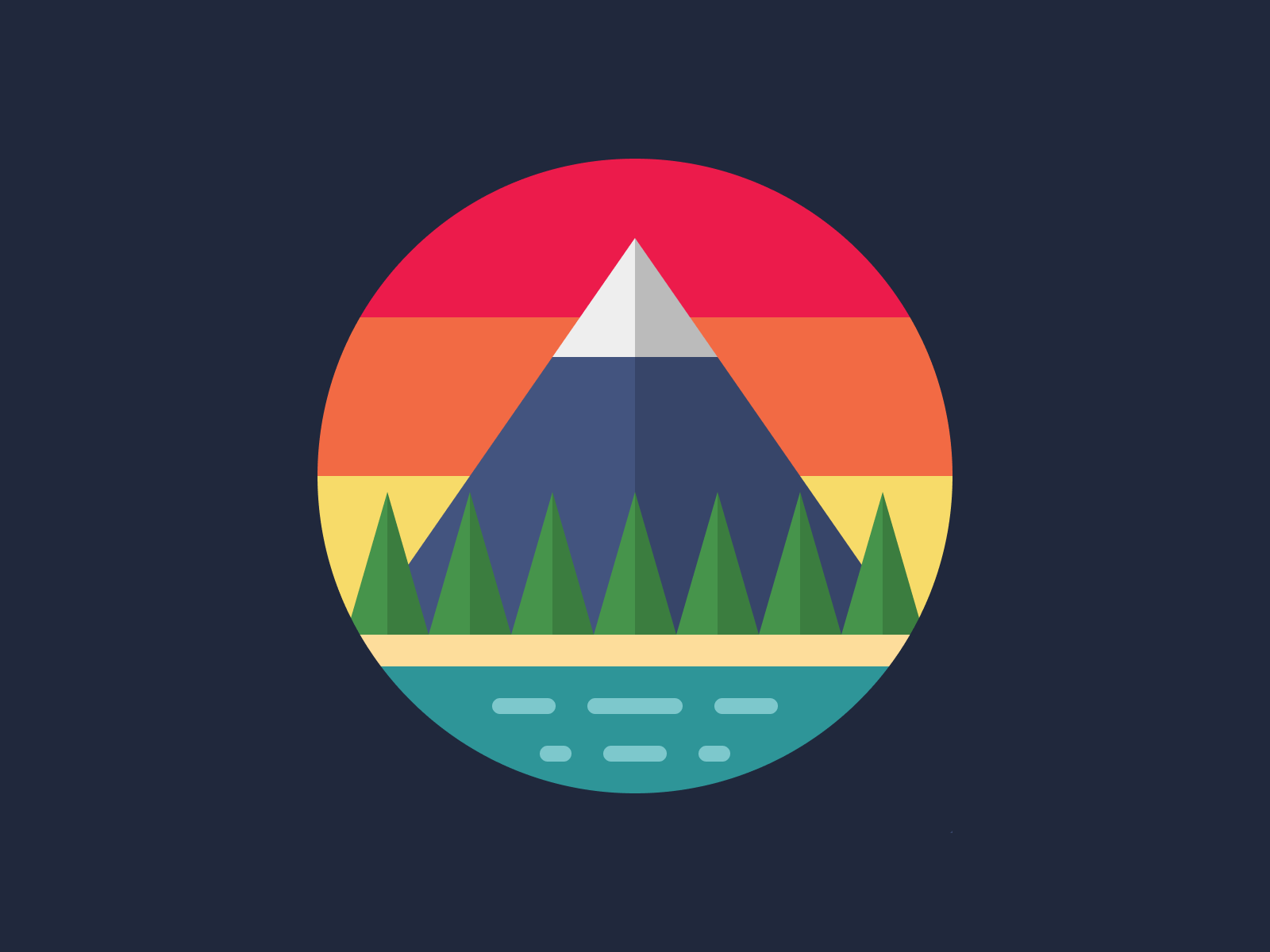 Coastal Mountain View