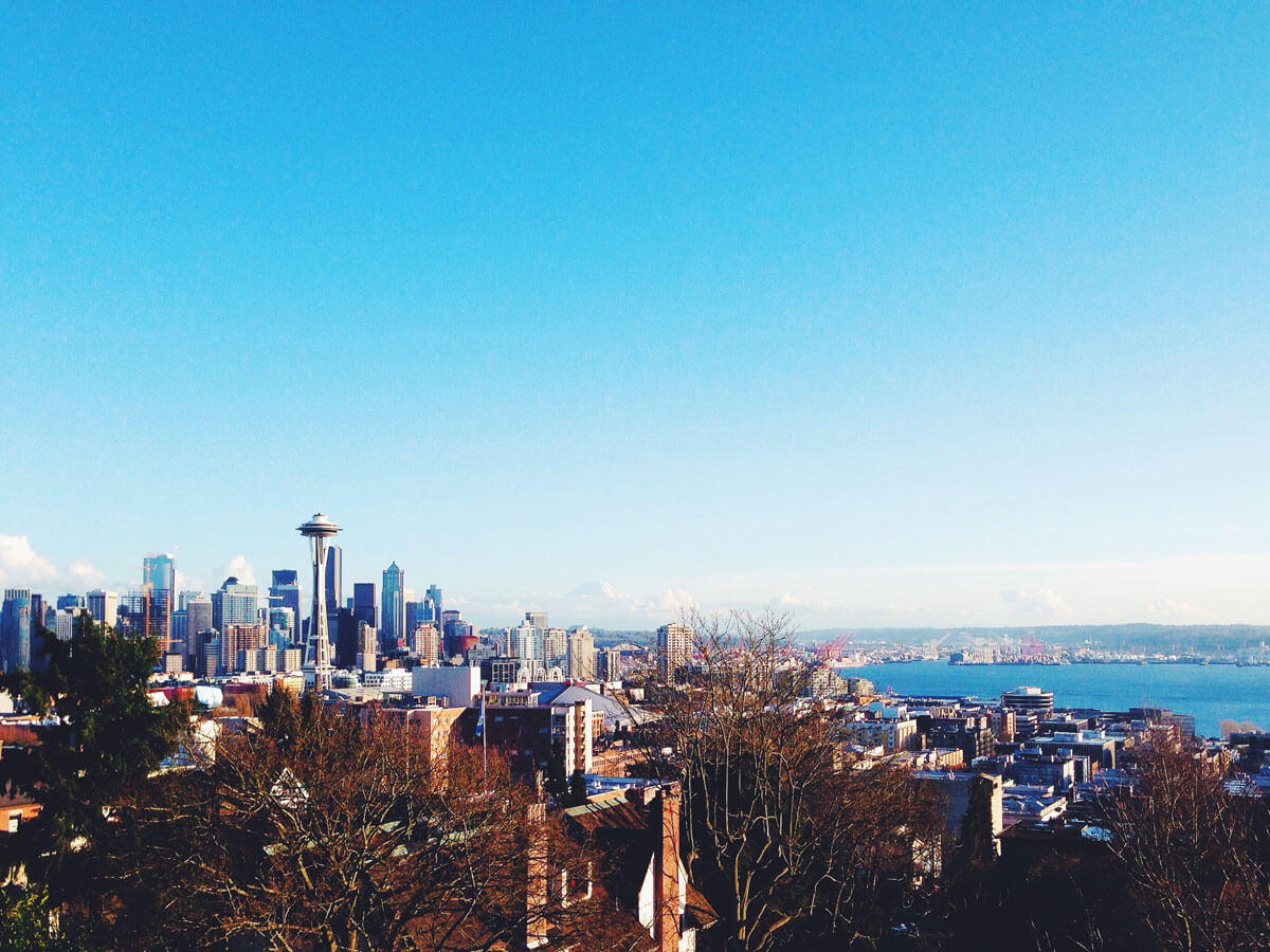 View of the Seattle skyline